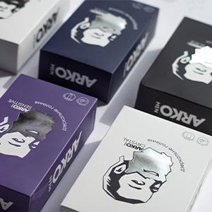Подарункові набори «Дзеркальне гоління» для ARKO MEN